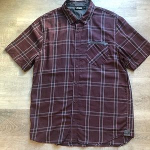 Vans men's plaid shirt size L